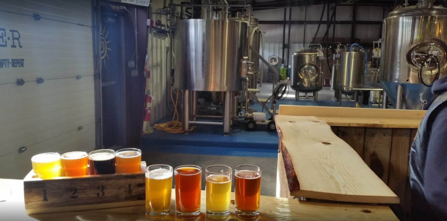 Check out the brewery floor coatings that we did for Craft Roots Brewery Production
