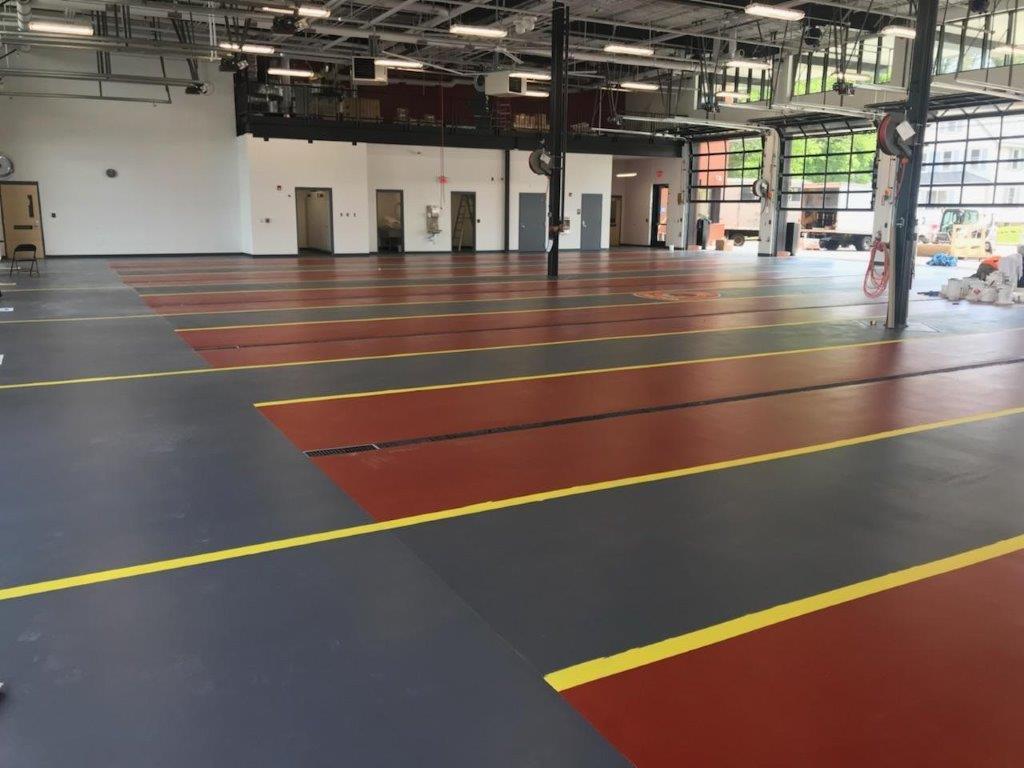 Fire Department Flooring