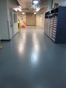 pharmaceutical flooring repair